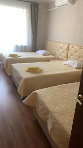 Кровать или кровати в номере Курорт Икша Минфина России
