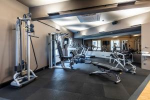 The fitness center and/or fitness facilities at Hotel Zeitgeist Vienna Hauptbahnhof