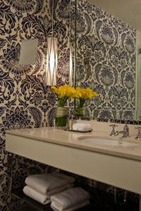 A bathroom at Kimpton Hotel Monaco Philadelphia, an IHG hotel