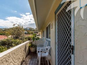 A balcony or terrace at Villa Manyana Unit 26