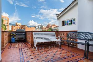 A balcony or terrace at Ayenda 1258 Boutique Laureles Home