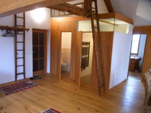 Ein Badezimmer in der Unterkunft Ferienwohnung Siloblick