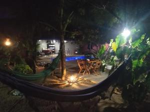 The swimming pool at or near Pousada A Vida é Bela
