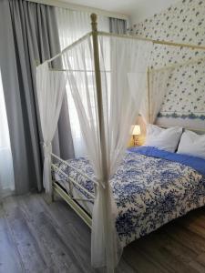 Кровать или кровати в номере Boutique Hotel Kugel Wien