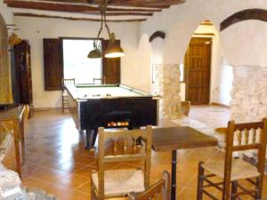 Mesa de billar en Chalet with 8 bedrooms in Abanilla with wonderful mountain view private pool furnished terrace