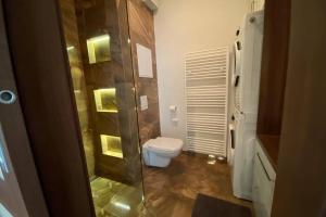 Kúpeľňa v ubytovaní Cozy apartment 20 minutes from Bratislava
