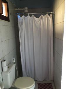 Um banheiro em Galeria Hostel