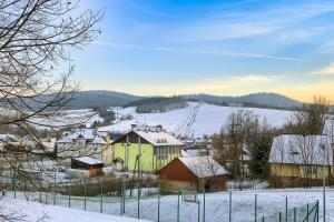 Stara Mleczarnia during the winter