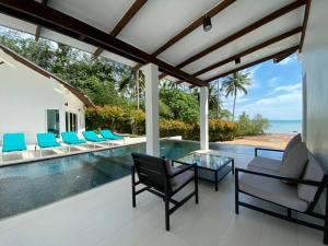 The swimming pool at or near Krabi Beach House, SHA Certified