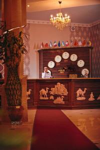 El vestíbulo o zona de recepción de Mixt Royal Palace