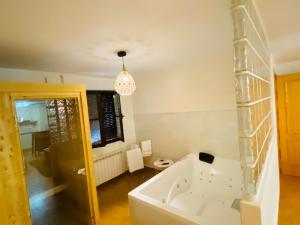 A bathroom at Chinchonspa