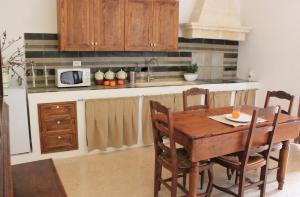 Cucina o angolo cottura di Masseria Zambardo