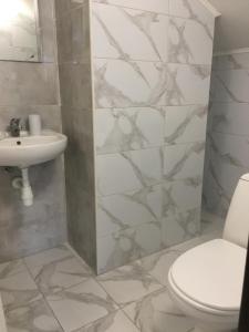 Salle de bains dans l'établissement Guest House SOTNI