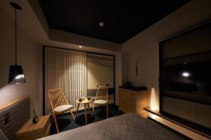 A television and/or entertainment center at Hotel Resol Trinity Osaka