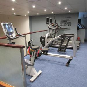The fitness centre and/or fitness facilities at Ocean Beach Hotel & Spa - OCEANA COLLECTION