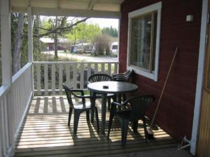 En balkong eller terrass på Nokia Camping Viinikanniemi
