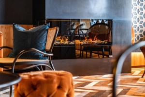 Posezení v ubytování Erzherzog Johann Alpin Style Hotel - Adults Only
