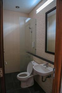 A bathroom at Alia Home