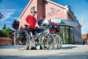 Radfahren an der Unterkunft Hotel Greive oder in der Nähe