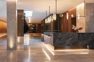 The lobby or reception area at Parmelia Hilton Perth