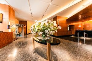 The lobby or reception area at Hotel Hanshin Osaka