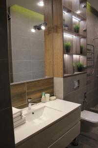 Ванная комната в Мини-отель Уют