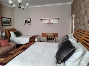 Кровать или кровати в номере The Emsley Bed & Breakfast