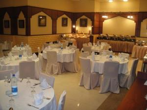Banquet facilities at the condo hotel