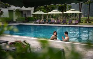 The swimming pool at or near Ninh Binh Hidden Charm Hotel & Resort