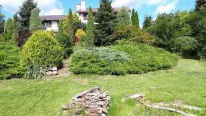 Ogród w obiekcie Jeleniec