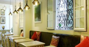 A seating area at Ma Maison Boutique Hotel