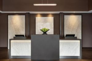 The lobby or reception area at Hyatt Place Philadelphia/ King of Prussia