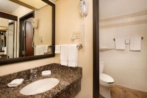 A bathroom at Drury Inn & Suites Springfield