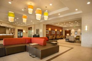 The lobby or reception area at Drury Inn and Suites Denver Central Park