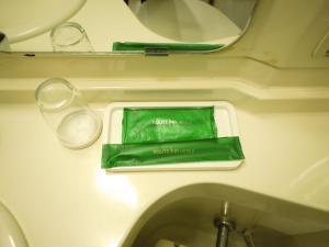 A bathroom at Hotel Route-Inn Sapporo Kitayojo
