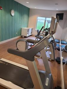 The fitness center and/or fitness facilities at Holiday Inn Express Hotel & Suites Sheldon