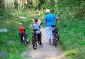 Radfahren an der Unterkunft Baumann´s Hof oder in der Nähe