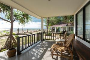 A balcony or terrace at Nakara Long Beach Resort