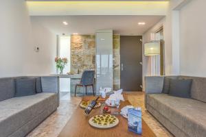 A seating area at Astir Odysseus Kos Resort and Spa