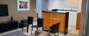 The lobby or reception area at Casa Del Mar
