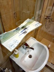 A bathroom at Hotel Duet v Lyublino