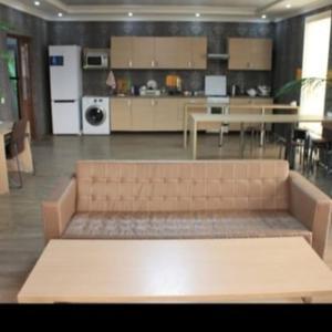 A kitchen or kitchenette at BaHostel