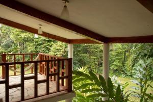 Een balkon of terras bij Hotel la Aldea del Halach Huinic