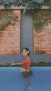 The swimming pool at or near Bhuana Alit 2 Ubud