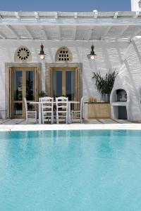 The swimming pool at or close to Anthea Hotel
