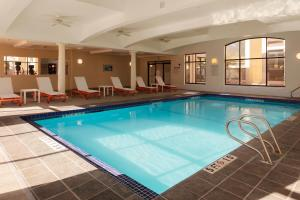 The swimming pool at or near Holiday Inn Boston - Dedham Hotel & Conference Center, an IHG hotel