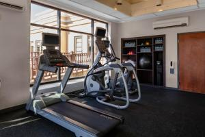 The fitness center and/or fitness facilities at Holiday Inn Boston - Dedham Hotel & Conference Center, an IHG hotel