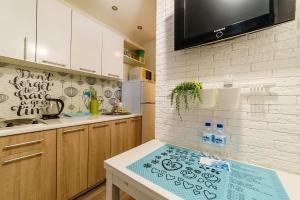 Кухня или мини-кухня в Квартира на Терешковой 8