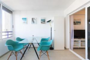 Atpūtas zona naktsmītnē TROPIC MAR Levante beach apartments