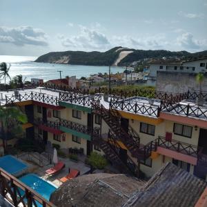Uma vista da piscina em Apart Hotel Serantes ou nos arredores